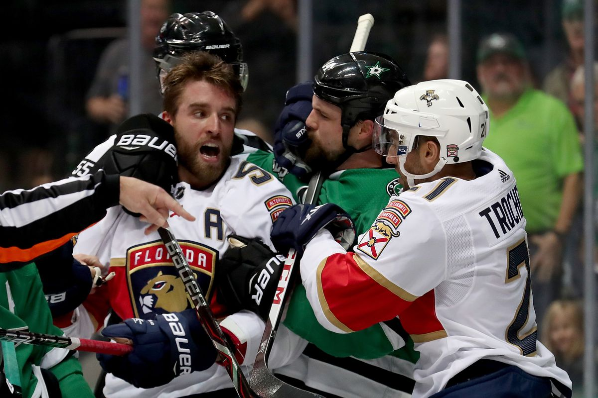 Jamie Benn and the Dallas Stars fight to turn their roadtrip around against  the Florida Panthers. Photo by Tom Pennington Getty Images ecd0d613a