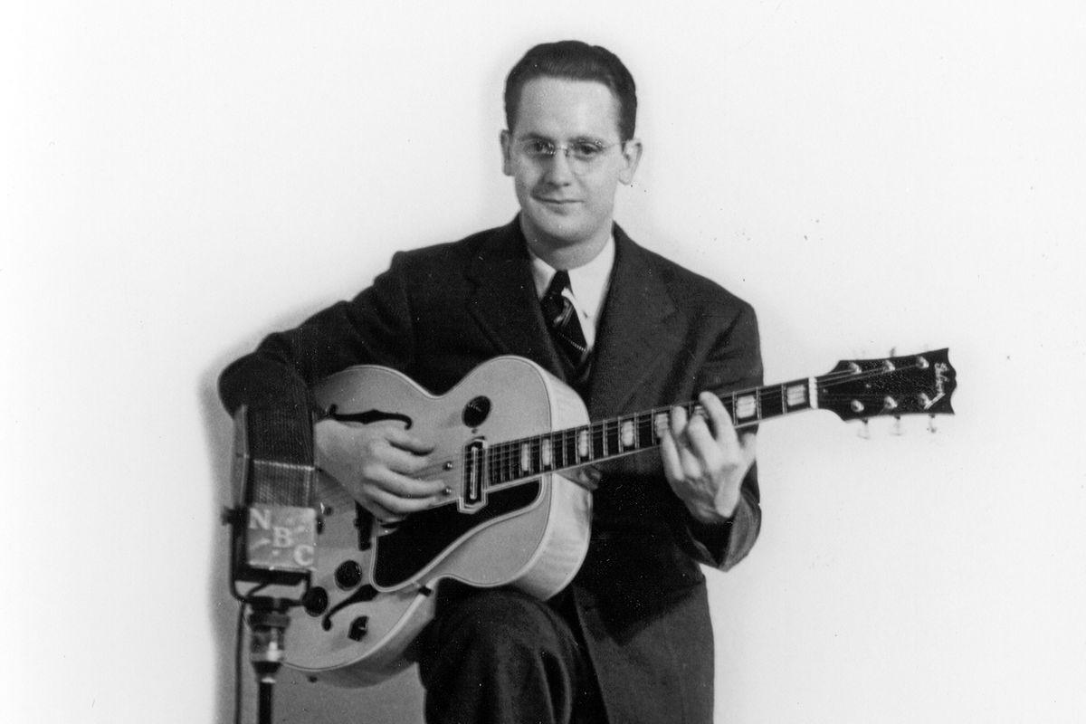 Les Paul in 1940.