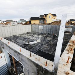 Construction work continues on new homes and condominiums in Daybreak on Friday, Feb. 3, 2017. According to the 2017 Salt Lake Housing Forecast report released on Friday by the Salt Lake Board of Realtors, the Salt Lake County real estate market in 2016 had its best year in a decade.