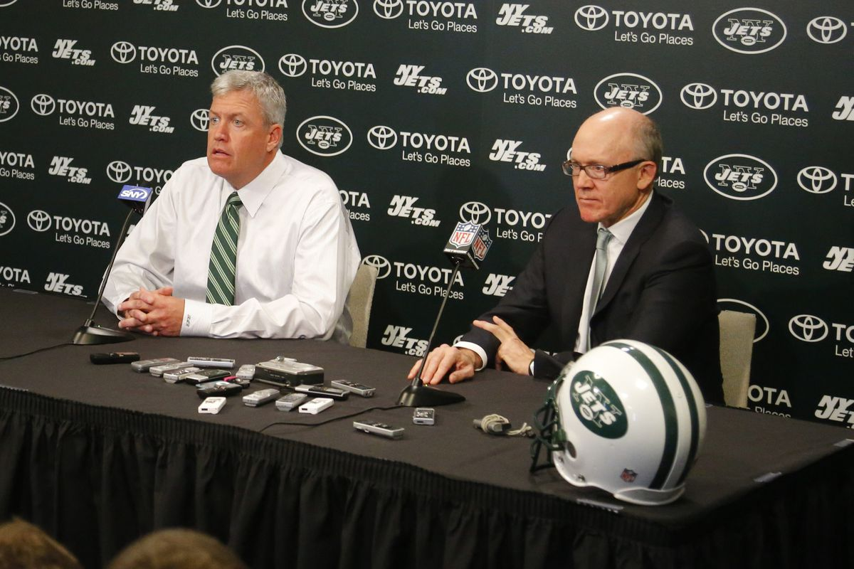 Marc Ross reportedly won't join the circus run by Woody Johnson (right)