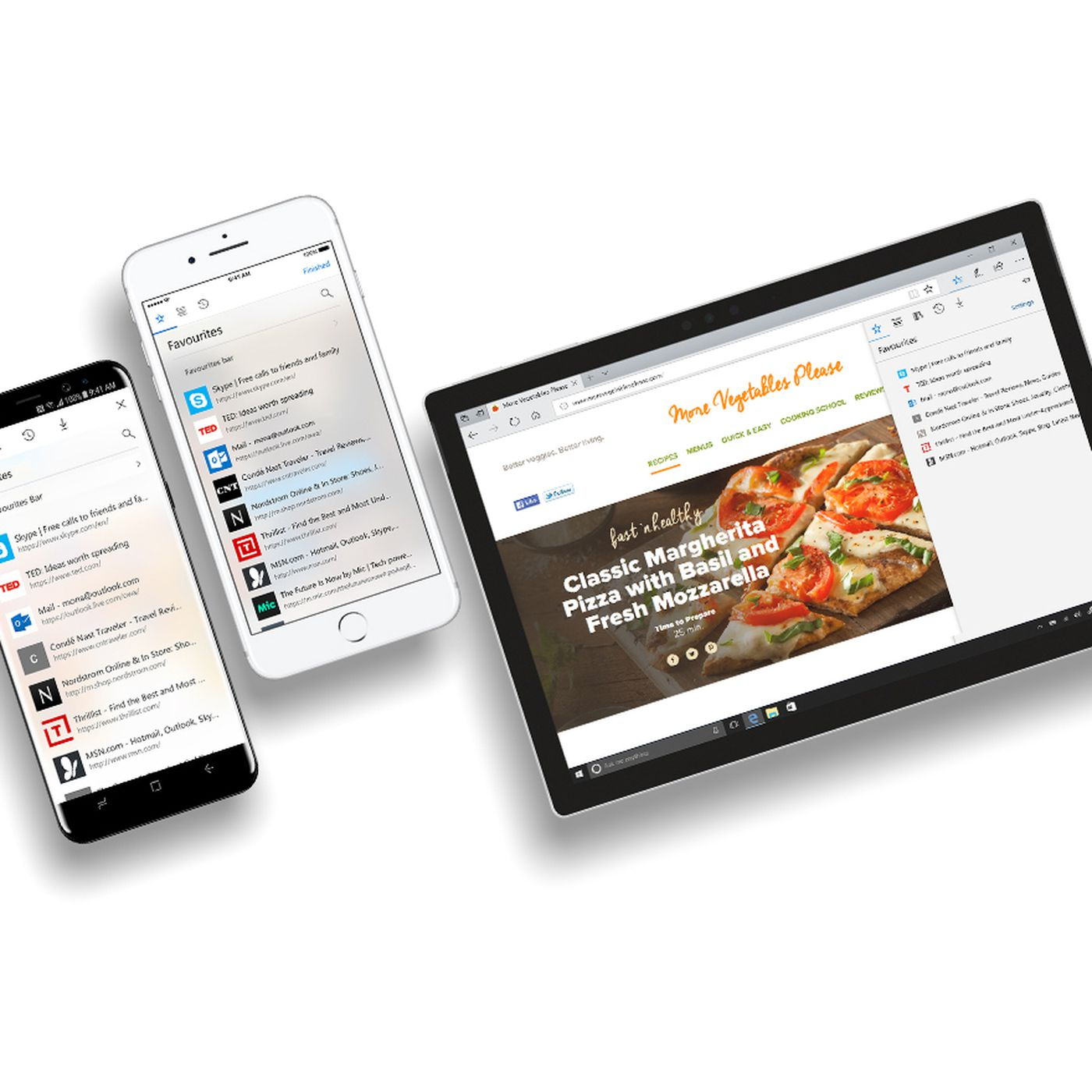 Microsoft Edge for iOS and Android now comes with a built-in