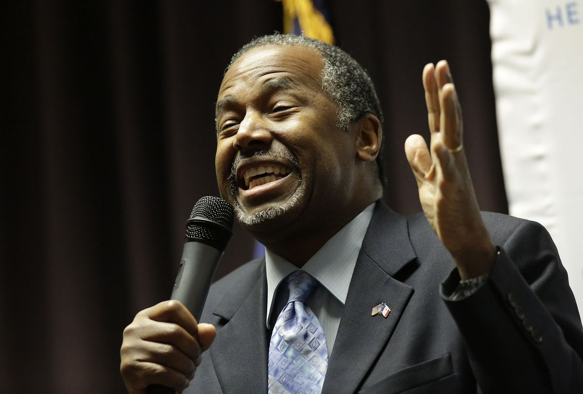 Ben Carson Holds 'Trust In God' Town Hall In Iowa