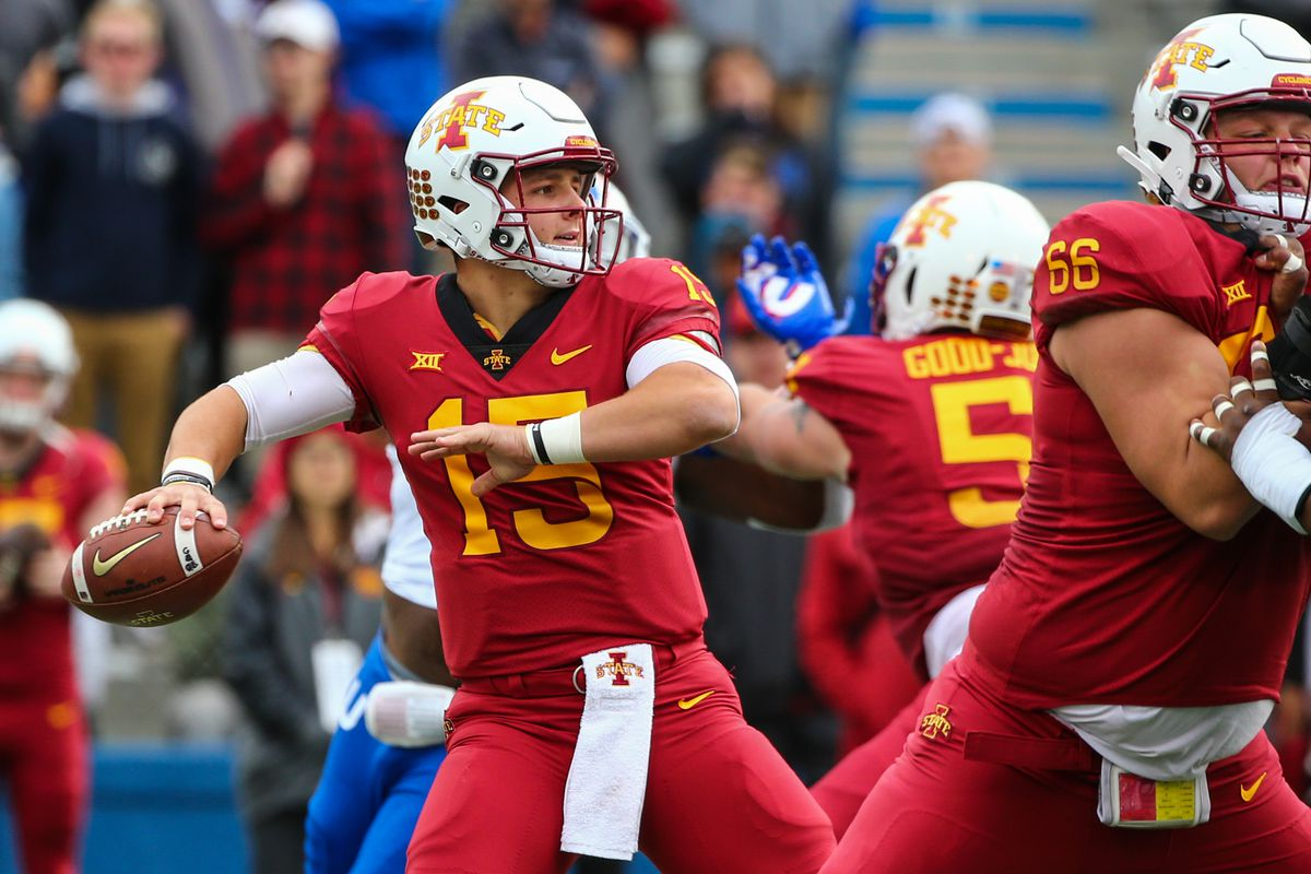 Tom Herman Says Iowa State S Brock Purdy Has The It Factor