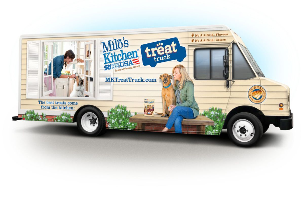 Dallas Dog Treat Food Truck