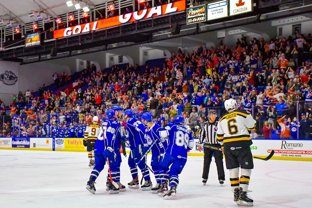 604dd2294 Syracuse Crunch vs. Providence Bruins preview  AHL Eastern ...