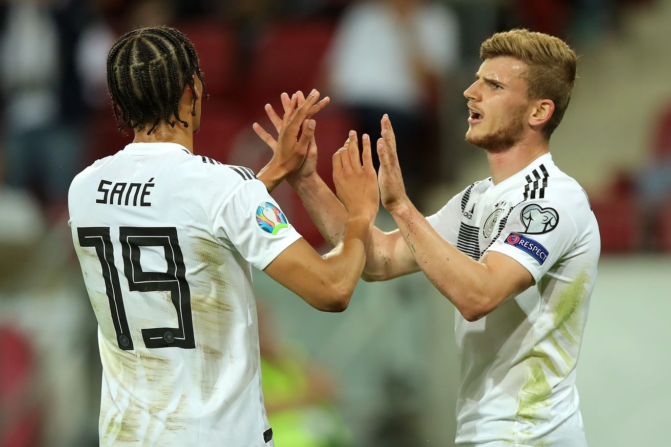 Report: Bayern Munich reconsidering Timo Werner as doubts about Leroy Sané mount