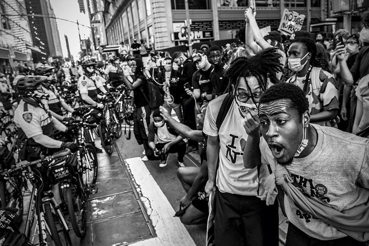 Black Lives Matter/George Floyd protesters