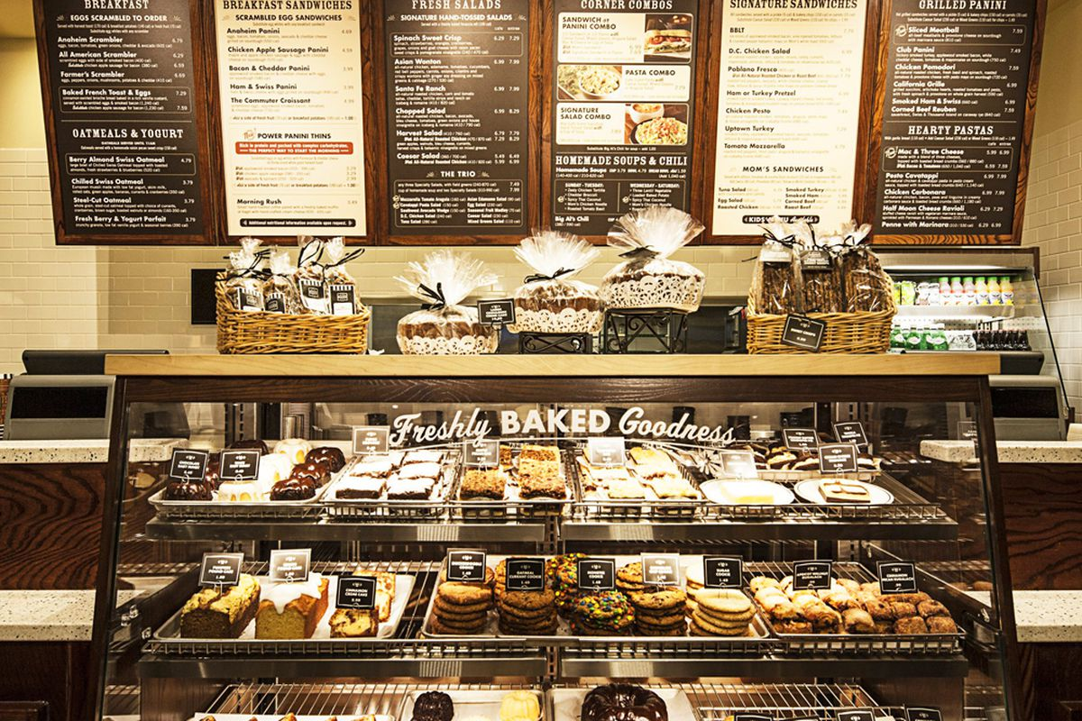 Corner Bakery Cafe Chicago Menu