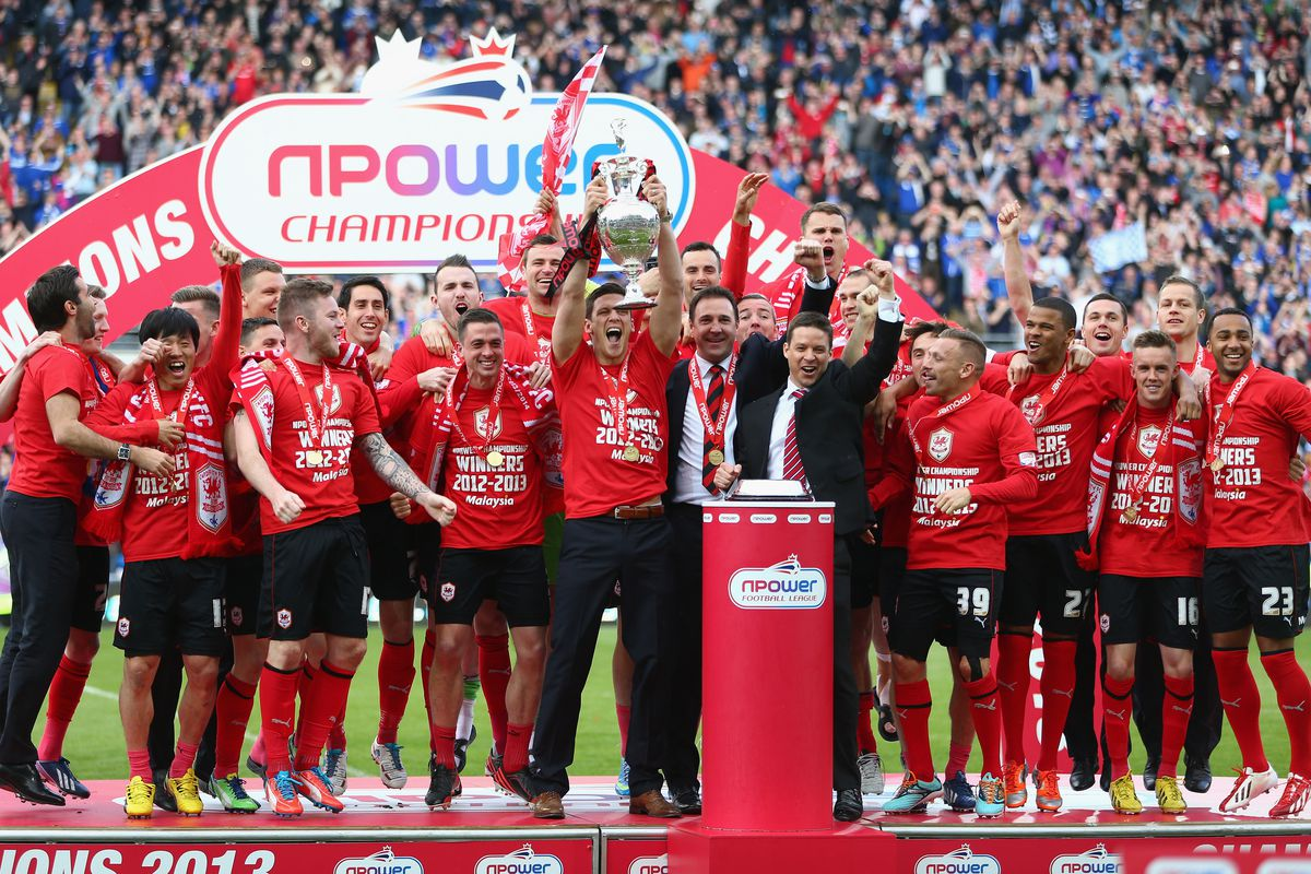 Cardiff won the title in 2012-13 despite massively overspending on wages.