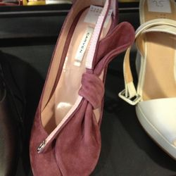Carven Suede Pump, $179 (from $450)