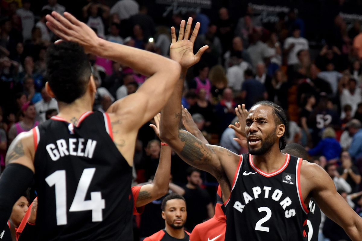 b061e9343 Recap  Raptors escape Miami with 106-104 comeback win - Raptors HQ