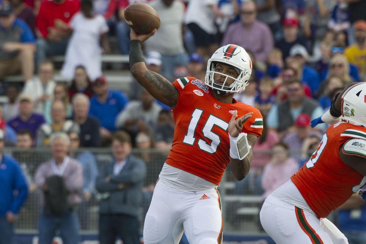 NCAA Football: Independence Bowl-Louisiana Tech vs Miami