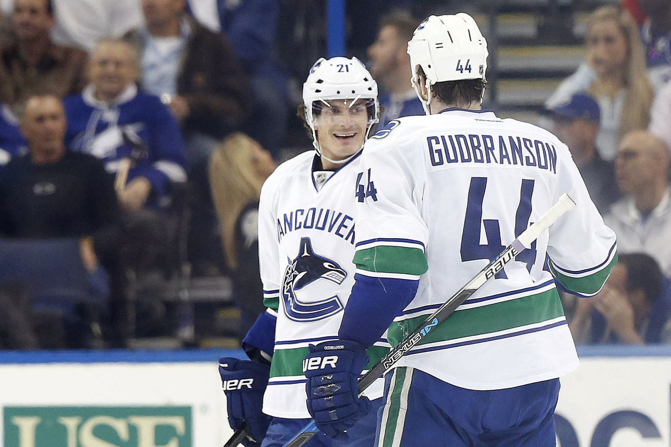 Neither of Loui Eriksson or Erik Gudbranson have received much love during their time in Vancouver. If they ever read anything about themselves online, they should read (the first half) of this.