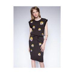 "<b>Pixie Market</b> <a href=""http://www.pixiemarket.com/dresses/le-tigre-dress.html"">Le Tigre Dress</a>, $75"