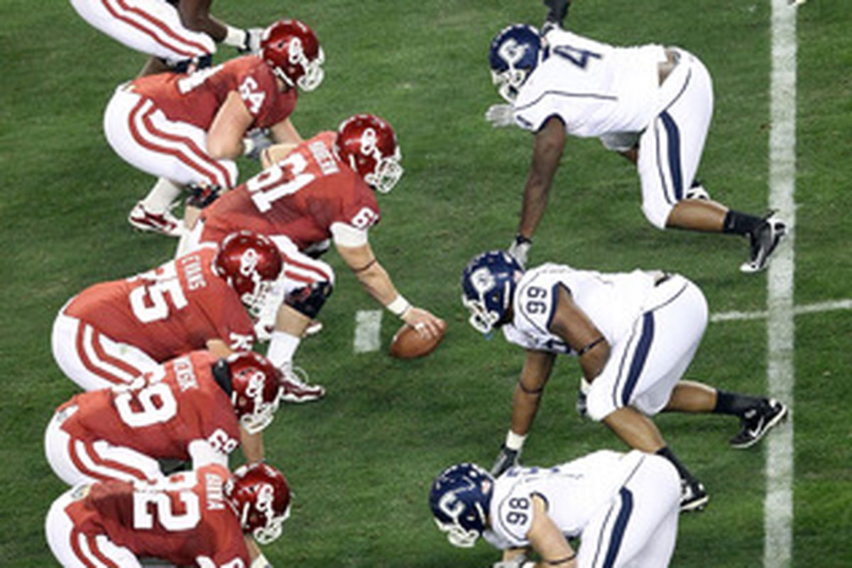 The OU offensive line is one of a couple positions where things remain somewhat unsettled heading into the 2011 season.
