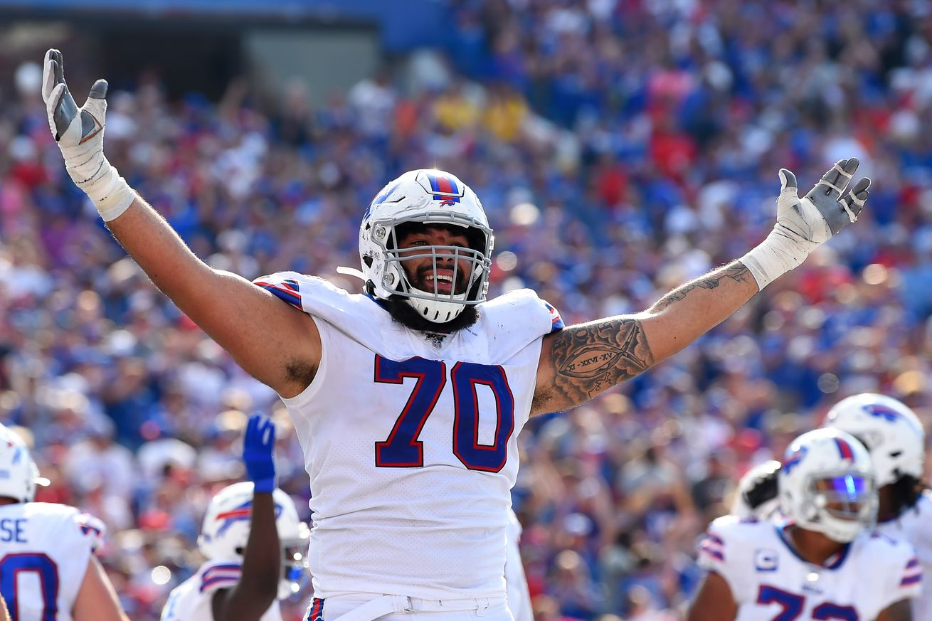 Cody Ford leaves game, Buffalo Bills offensive line in trouble