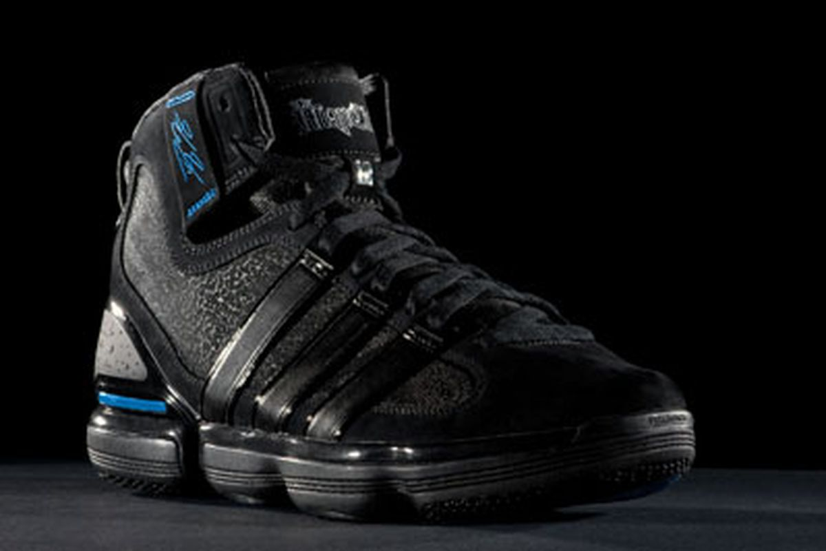 official photos popular stores designer fashion Dwight Howard's New Shoe, the Adidas Beast: a Closer Look ...