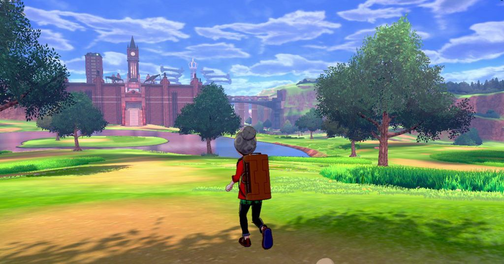 Pokémon Sword and Shield's wild area keeps me coming back - The Verge