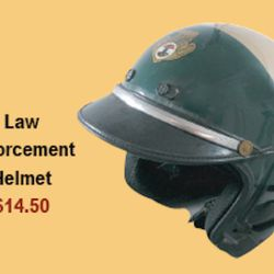 Genuine Law gently used law enforcement riot helmets. A must for any rioter. $14.50