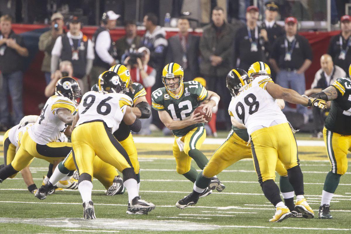 Green Bay Packers vs Pittsburgh Steelers, Super Bowl XLV