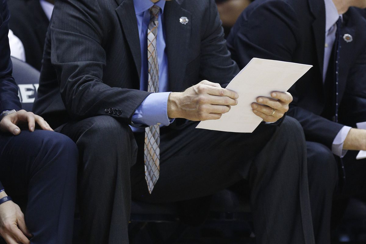 Coach Mack has made a list, and he's checking it twice