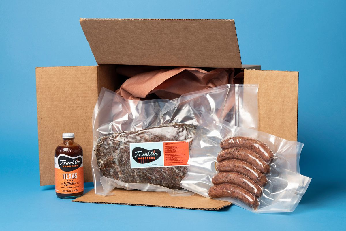 Franklin Barbecue's Goldbelly package