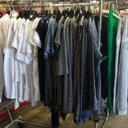 If you're in need of more monochromatic basics, the sale's got plenty of those in an array of sizing.