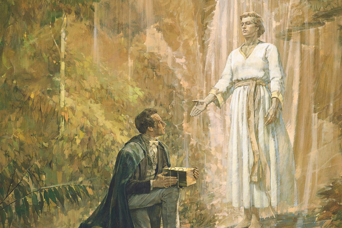Angelic handoff of Mormon golden plates to Joseph Smith took place 190  years ago today - Deseret News