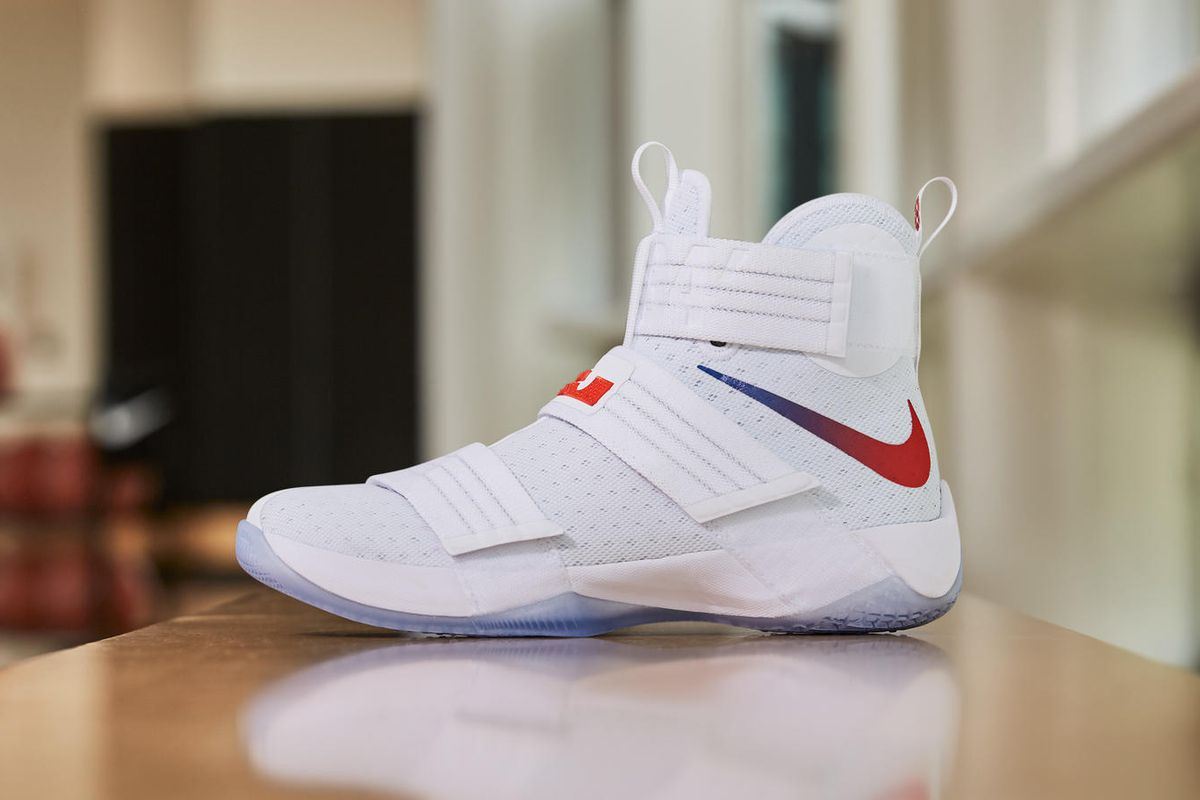 super popular a66ac 3aadf The LeBron Soldier 10 gets another throwback PE - Fear The Sword