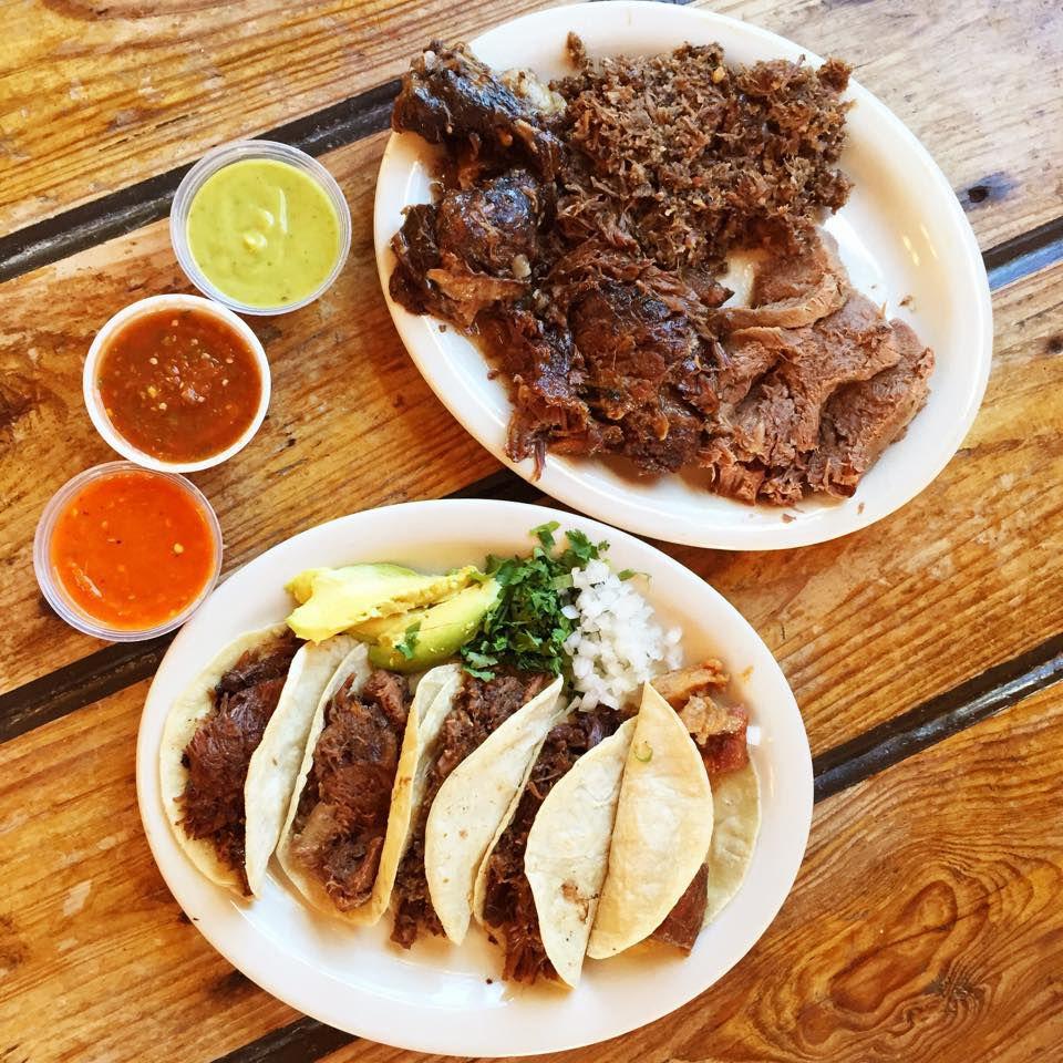 Vera's barbacoa tacos
