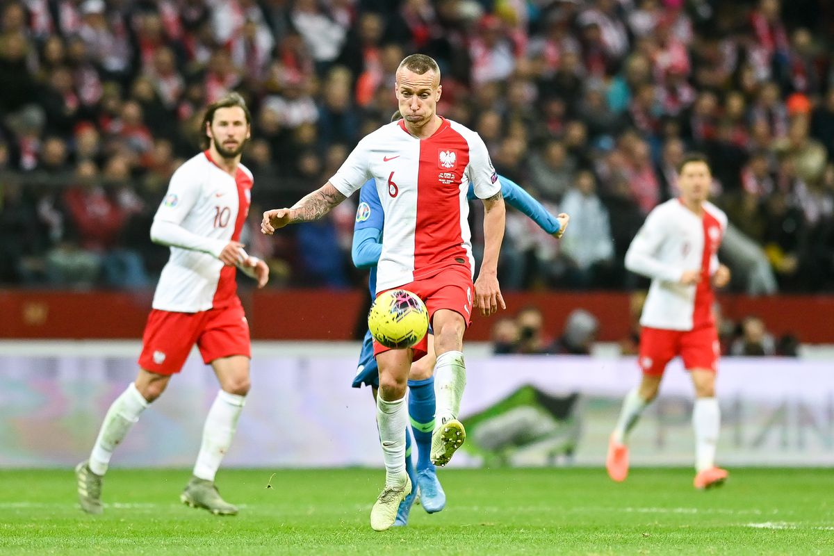 Jacek Goralski from Poland seen in action during the Euro...