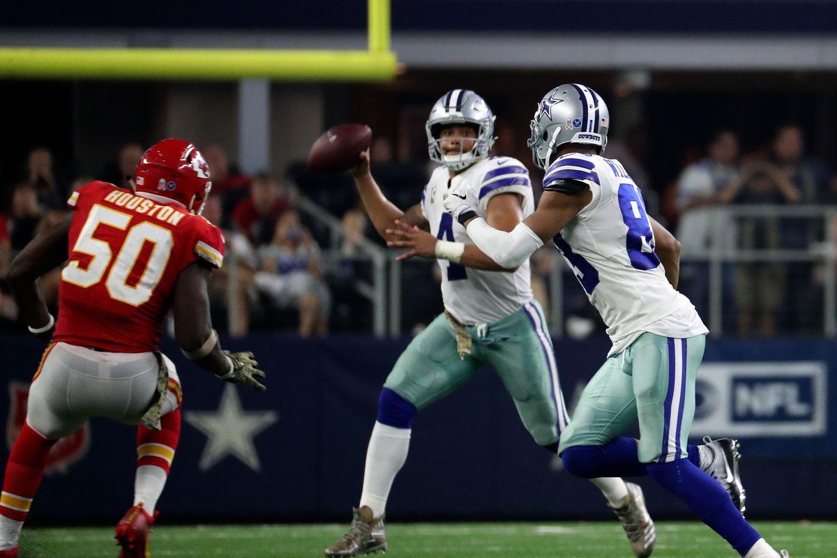 NFL: Kansas City Chiefs at Dallas Cowboys