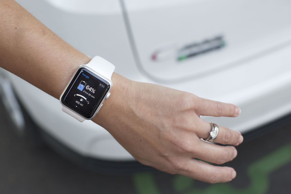 Ford Launches Smartwatch Apps For Its Electric And Plug In
