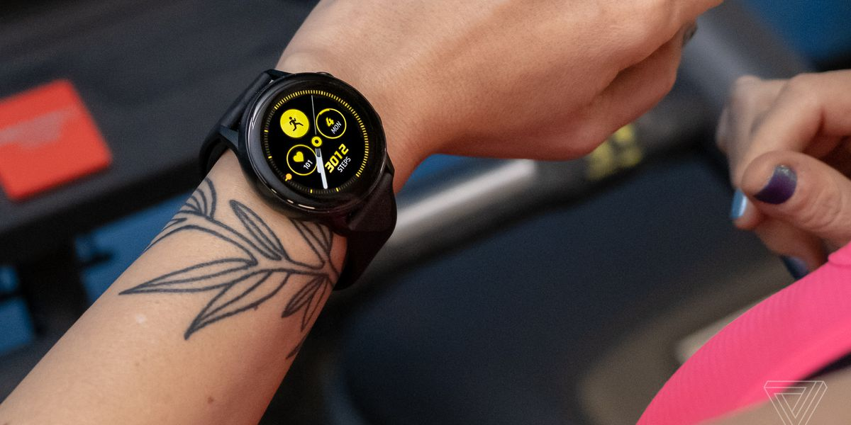 Samsung Galaxy Watch Active review: less fun but still a good time