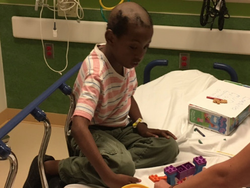 Illinois State Police are seeking the public's help in providing information that could fully identify a boy found walking on I-290 in the Near West Side Monday evening. | Illinois State Police