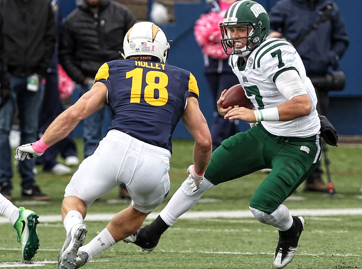 OHIO V. KENT STATE IN PICTURES