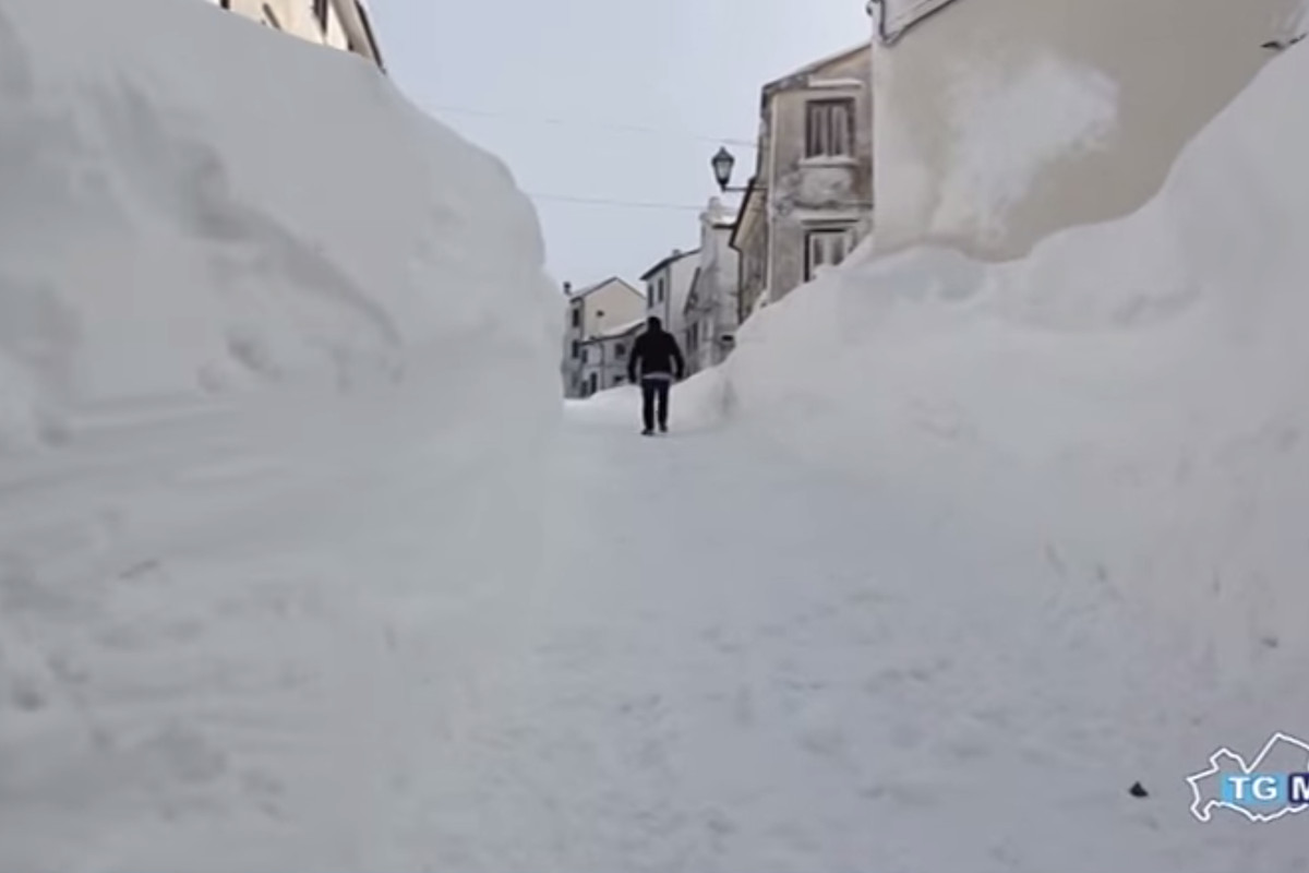 This is what it looks like in the Italian town that just got