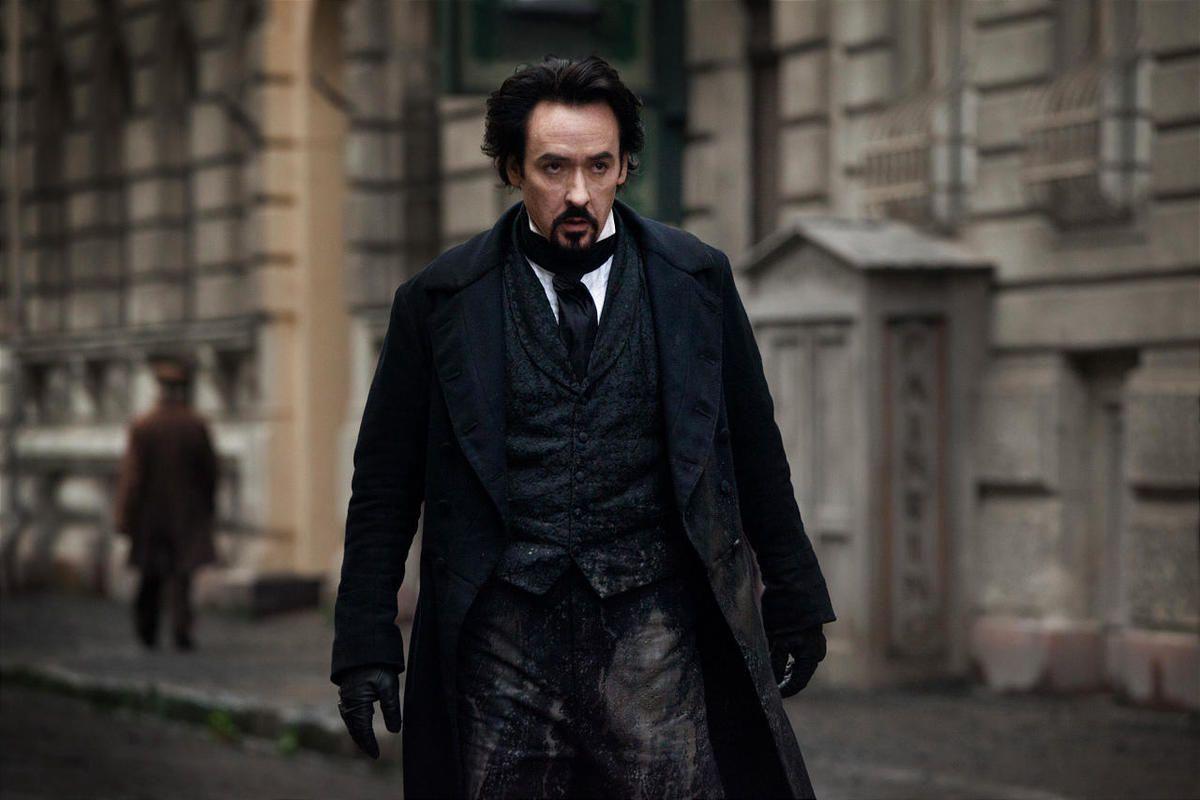 "John Cusack stars as Edgar Allan Poe in ""The Raven."""