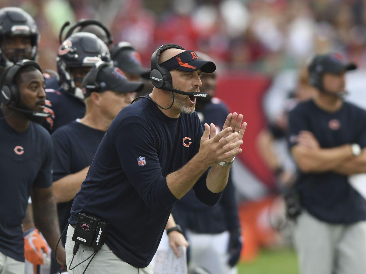 Matt Nagy is 31-24 as Bears coach, including 19-20 over the last three seasons.