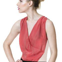 "The Diva, <a href=""http://www.bradamant.com/products/silk-deep-surplice"">$118</a>"