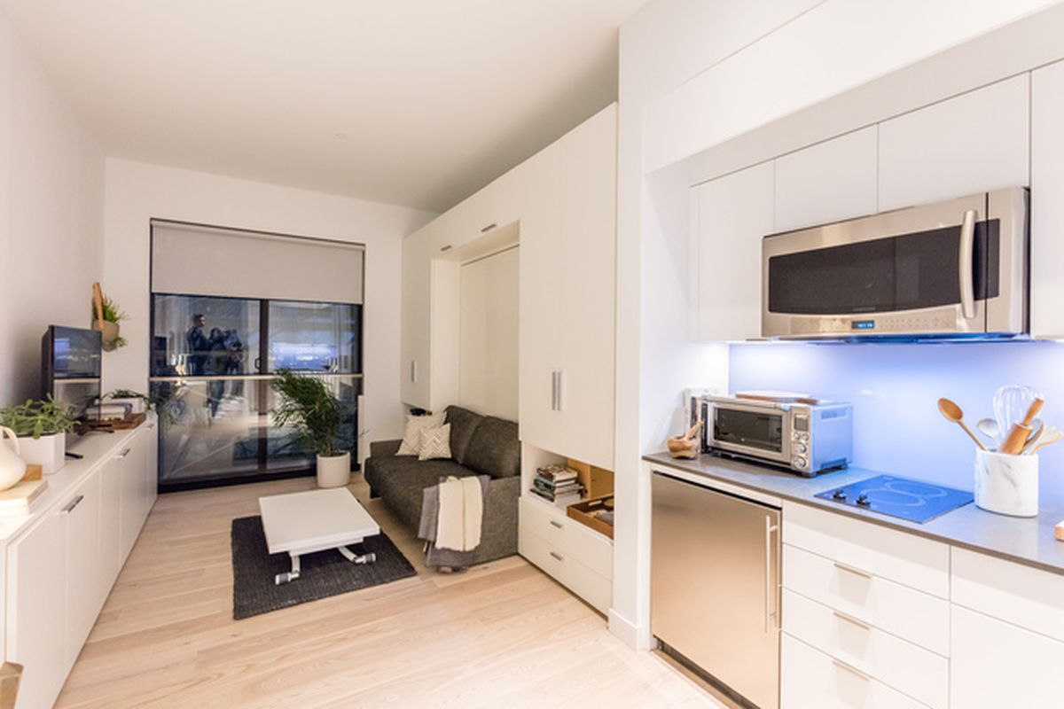 Inside The Surprisingly Spacious Model Unit At Nyc S First