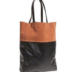 """Buy a deep tote and save your deep pockets. <a href=""""http://www.hm.com/us/product/07885?article=07885-C"""">Tote</a>, $24.95 at H&M."""