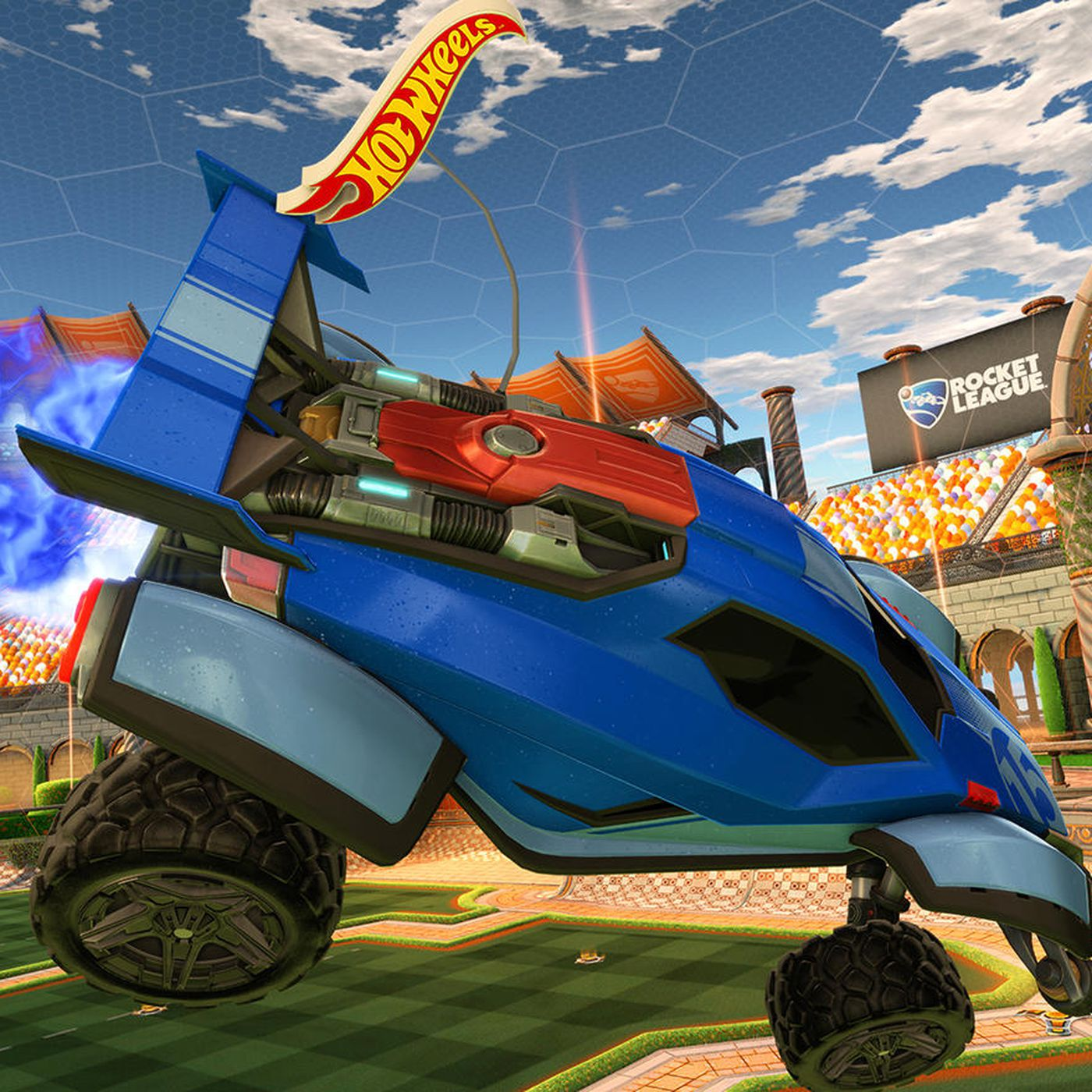Hot Wheels Is Bringing Rocket League To Life With Remote Control Cars The Verge