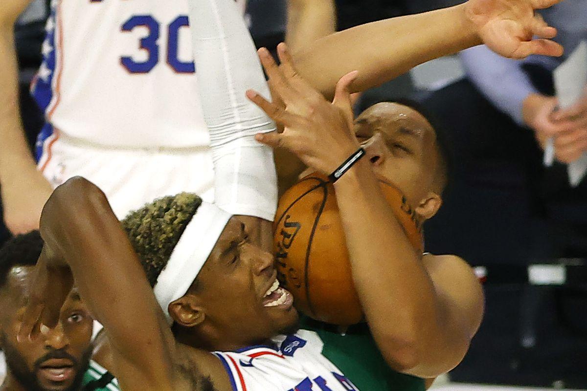 NBA: Playoffs-Philadelphia 76ers at Boston Celtics
