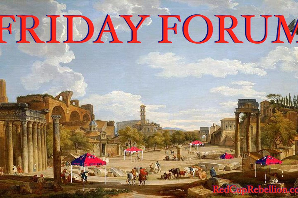 Friday Forum - June 27, 2014 - Red Cup Rebellion