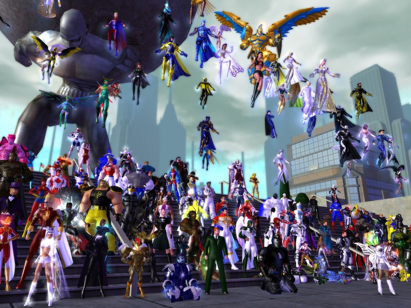 Why a secret City of Heroes server is dividing the community