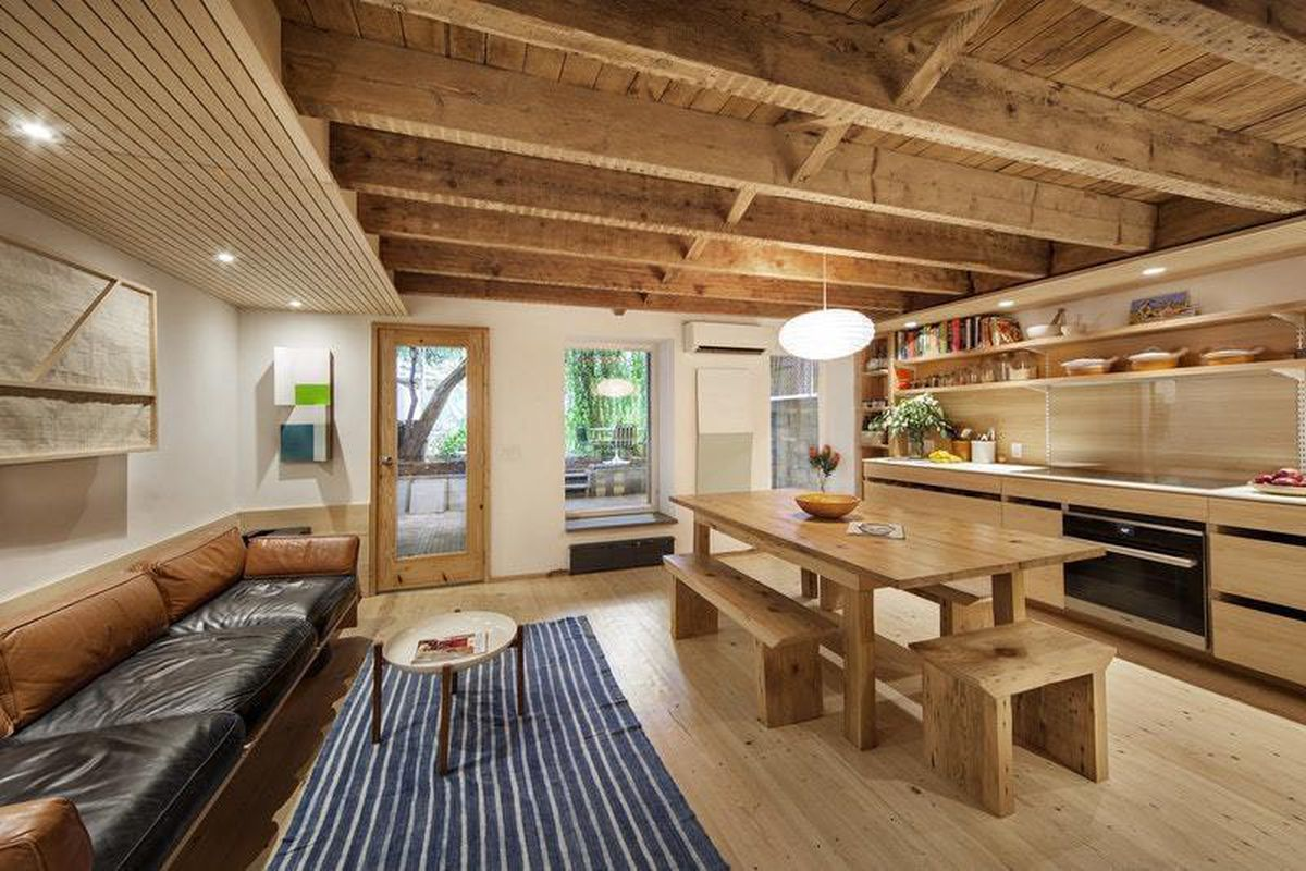 modern fort greene townhouse with expansive backyard wants 3 5m
