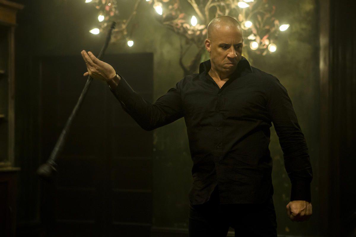 "Kaulder (Vin Diesel) in ""The Last Witch Hunter."""