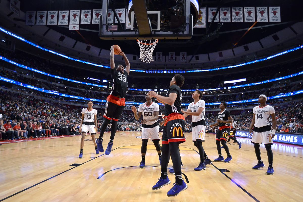 HIGH SCHOOL: APR 01 Basketball - McDonaldÕs All American Games - Boy's Game