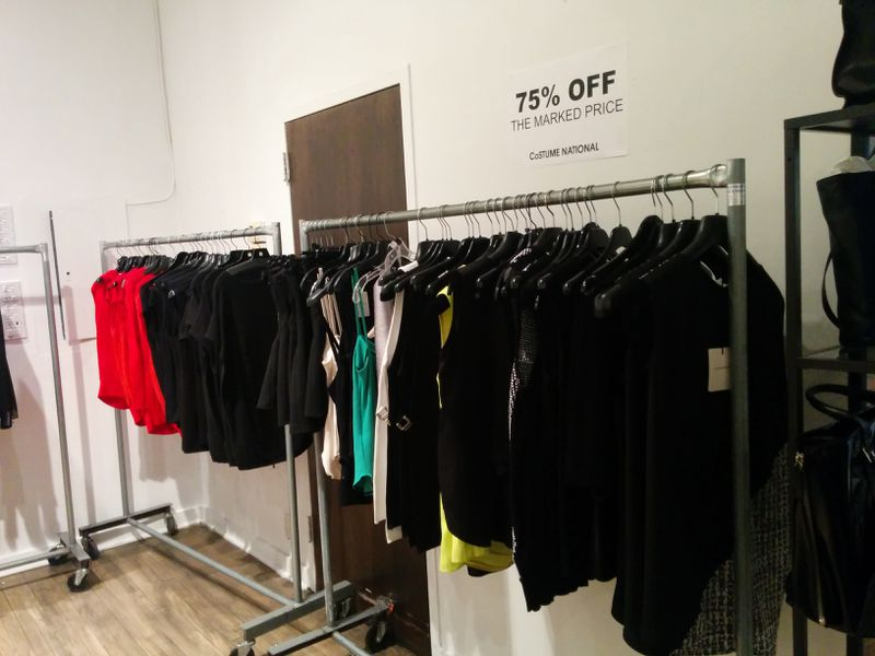 Everything at Costume National's Sample Sale Is 75% Off Retail ...